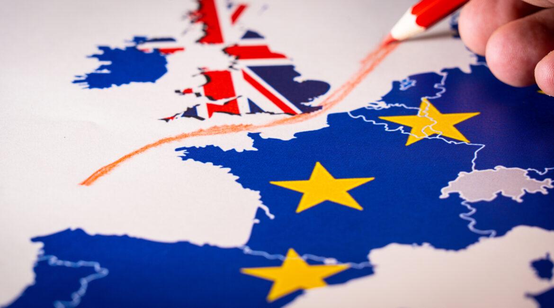 Redline between UK and Europe